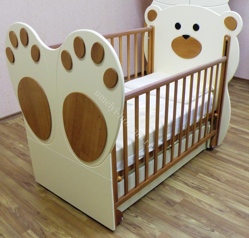 Кроватки для новорожденных своими руками фото