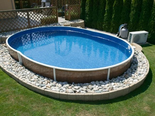 Как сделать бассейн на даче своими руками из бетона