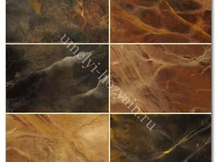 Искусственный мрамор из бетона своими руками видео