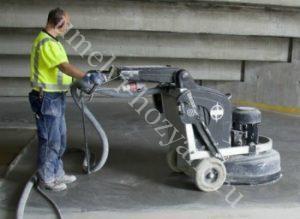 Как выполнить обеспыливание бетонного пола